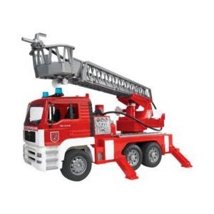 BRUDER Le camion de pompiers MAN TGA véhicule BRUDER