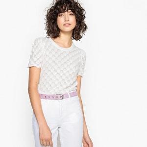 Cotton Scallop Knit Jumper MADEMOISELLE R