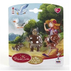 Figurine Princess Coralie :  Les amis de la forêt KLEIN
