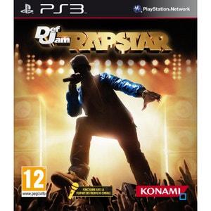 Def Jam : Rapstar + Micro PS3 KONAMI