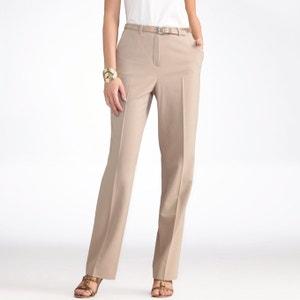 Pantalón de sarga biextensible, entrepierna. 78 cm ANNE WEYBURN