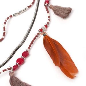 Lange Halskette mit Federn ANNE WEYBURN
