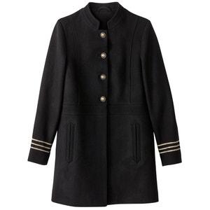 Пальто с деталями в военном стиле La Redoute Collections