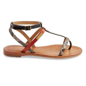 Płaskie skórzane sandały Baie LES TROPEZIENNES PAR M.BELARBI