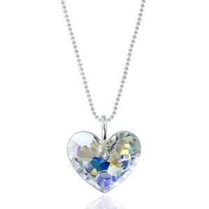 Collier BISHOJO Truly in Love SWAROVSKI ELEMENTS Argent 925 Aurore Boreale SWAROVSKI ELEMENTS