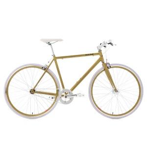 Vélo Fitness 28'' Flip Flop doré-blanc TC 59 cm KS Cycling KS