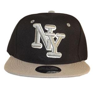 Casquette NY noir et grise CHAPEAU-TENDANCE
