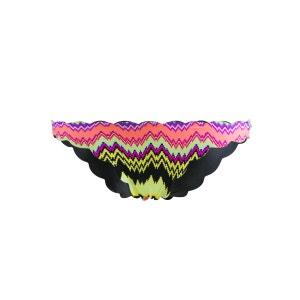 Maillot de bain Tanga Réversible Seamless Wave Teeny Multicolore PILYQ