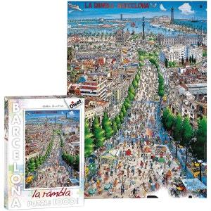 Puzzle Las Ramblas Barcelona DISET