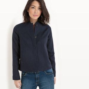 Blusão curto, algodão R essentiel