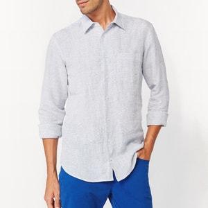 Chemise coupe droite en pur lin R essentiel