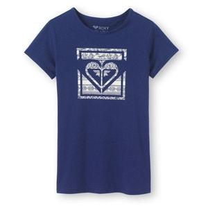 T-shirt scollo rotondo con motivo fantasia 8 - 10 anni ROXY