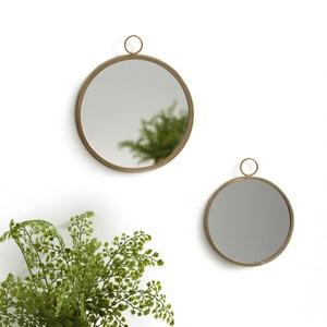 Ronde spiegels om op te hangen (set van 2), UYOVA La Redoute Interieurs