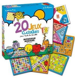 Monsieur Madame : 20 jeux classiques ABYSMILE