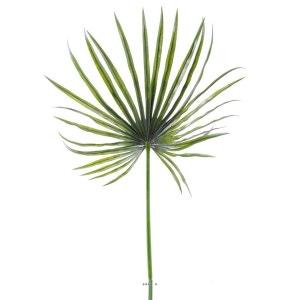Feuille palmier Chamaerops artificielle H 130 cm D 55 cm PE exterieur ARTIFICIELLES