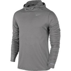 Tee-shirt de running manches longues à capuche NIKE