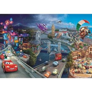 Papier peint Cars 2 Disney360X255 CM WALLTASTIC