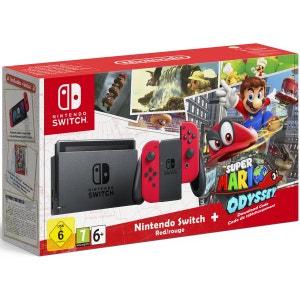 Console Nintendo Switch + Super Mario Odyssey NINTENDO