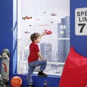 12 Stickers pour vitre Cars Disney WORLDS APART