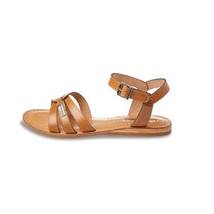 Platte sandalen in leer Balisto LES TROPEZIENNES PAR M.BELARBI