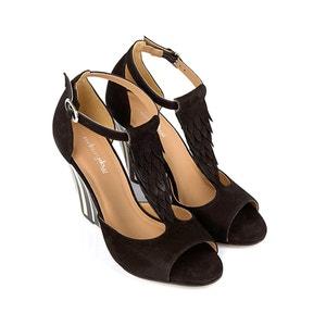 Sandales cuir détail franges Brady MELLOW YELLOW