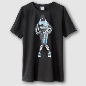 Pure Cotton Printed Crew Neck T-Shirt PUMA