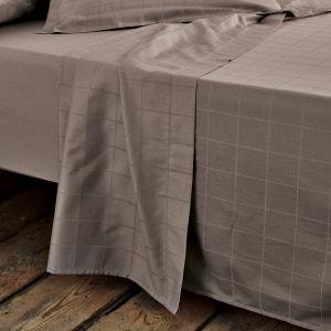 Drap satin de coton, tissé grands carreaux La Redoute Interieurs image