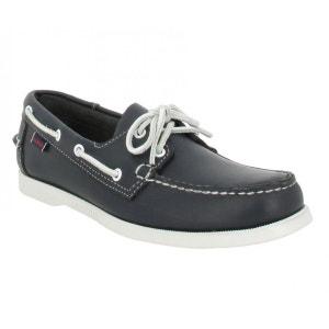 Chaussures bateaux homme SEBAGO Docksides Cuir  Homme Marine SEBAGO