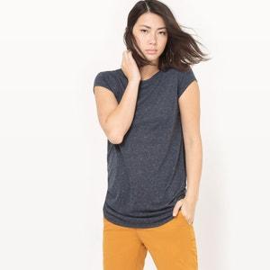 Linen Blend Tunic T-Shirt atelier R