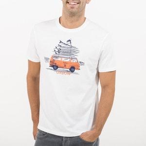T-shirt con scollo rotondo, maniche corte OXBOW