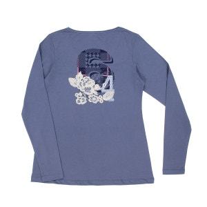 Tee-shirt femme PATCH FLORAL 64