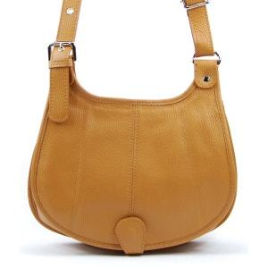 Sac à Main CUIR femme bandoulière - PETRA (petit modèle) OH MY BAG