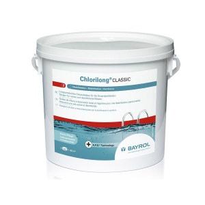 Chlore en galets de 250 g Chlorilong Classic - 5 kg BAYROL