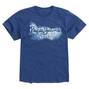 Bedrucktes T-Shirt, runder Ausschnitt PEPE JEANS