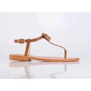 Sandalias de pies con detalle de lazo Ballydolly MELLOW YELLOW