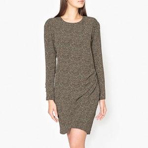Printed Draped Dress IKKS