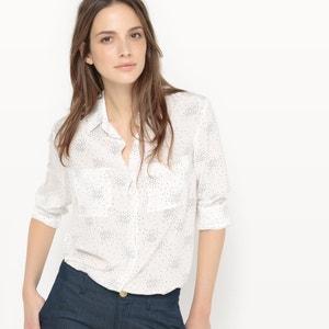Camicia attillata in seta fantasia atelier R