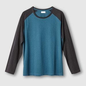 Camisola bicolor de mangas compridas CASTALUNA FOR MEN