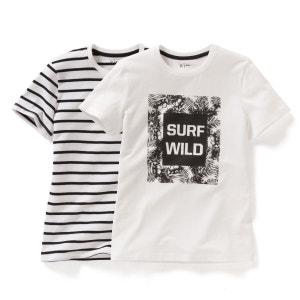 T-shirt imprimé (lot de 2) 10-16 ans R Edition
