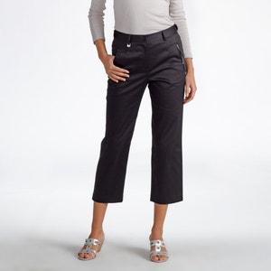 Pantaloni a pinocchietto speciale viaggio, satin di cotone ANNE WEYBURN