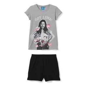 Short Pyjamas with Soy Luna Print SOY LUNA