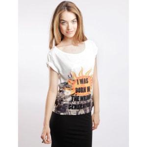 T-shirt à manches courtes Wrong Generation Blanc MINKPINK