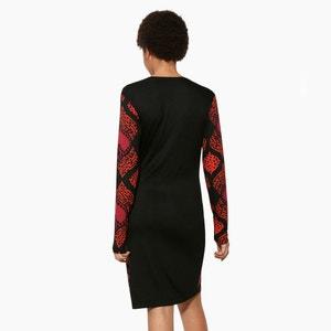 Robe courte, manches longues DESIGUAL