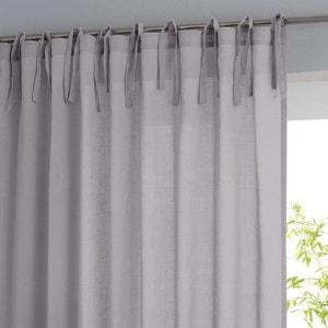 Single Cotton Voile Panel with Tie Top SCENARIO