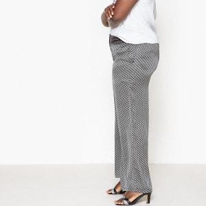 Pantalon large satin CASTALUNA
