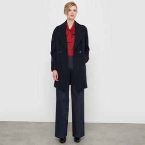50% Wool Boyfriend Coat atelier R