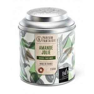 Bougie parfumée boîte à thé 55h amande jolie BOUGIES LA FRANÇAISE