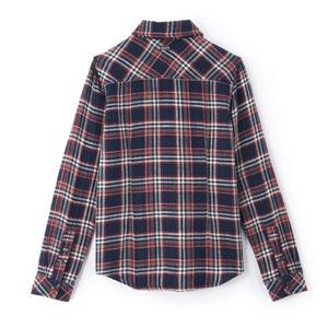 Koszula w kratę, długi rękaw PETROL INDUSTRIES
