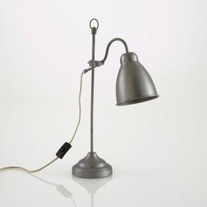 Lámpara de sobremesa de metal cepillado, Maxile La Redoute Interieurs