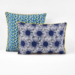 Blue Riviera Printed Single Pillowcase La Redoute Interieurs